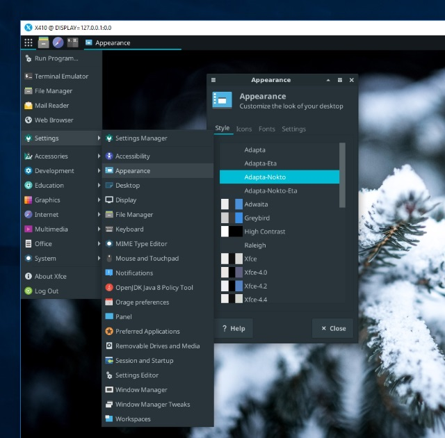Customizing Xfce Desktop for Ubuntu (WSL) - Choung Networks