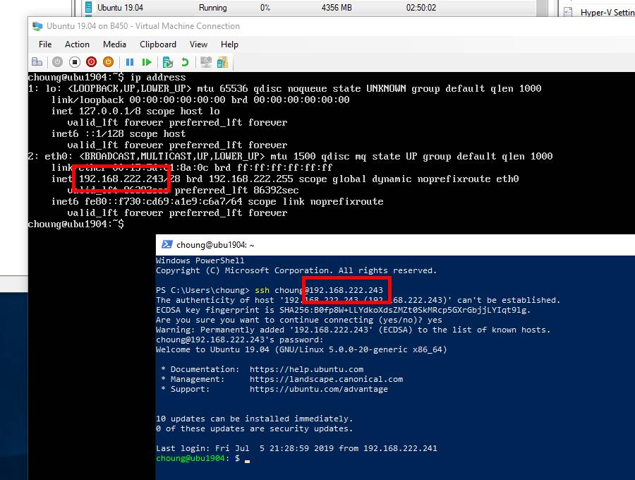 Using X410 with Hyper-V Linux Virtual Machines via VSOCK - Choung