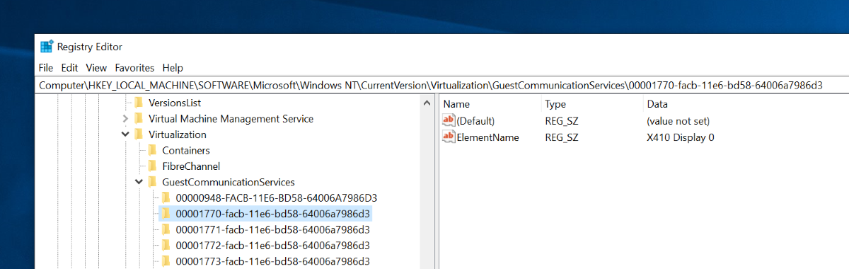 Using X410 with Hyper-V Linux Virtual Machines via VSOCK